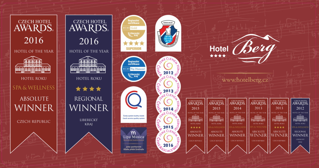 CZECH HOTEL AWARDS 2016 - HOTEL ROKU