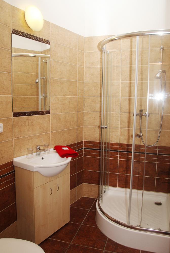 Pokoj B6 koupelna