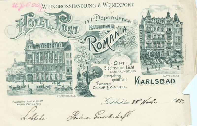 Výročí hotelu Romania 125 let