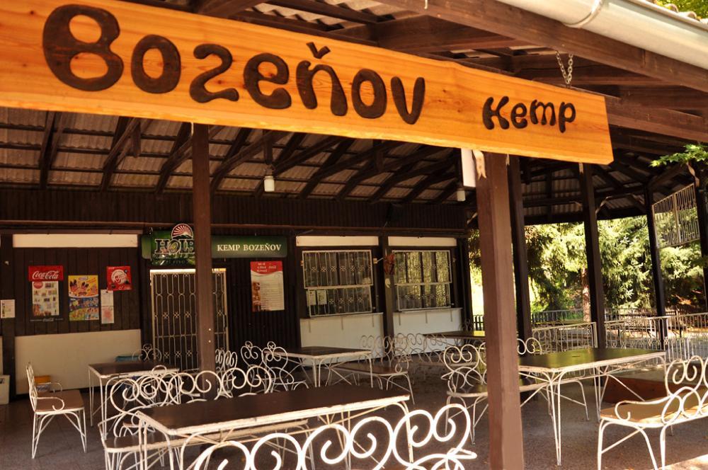 Bozeňov - kiosek v kempu