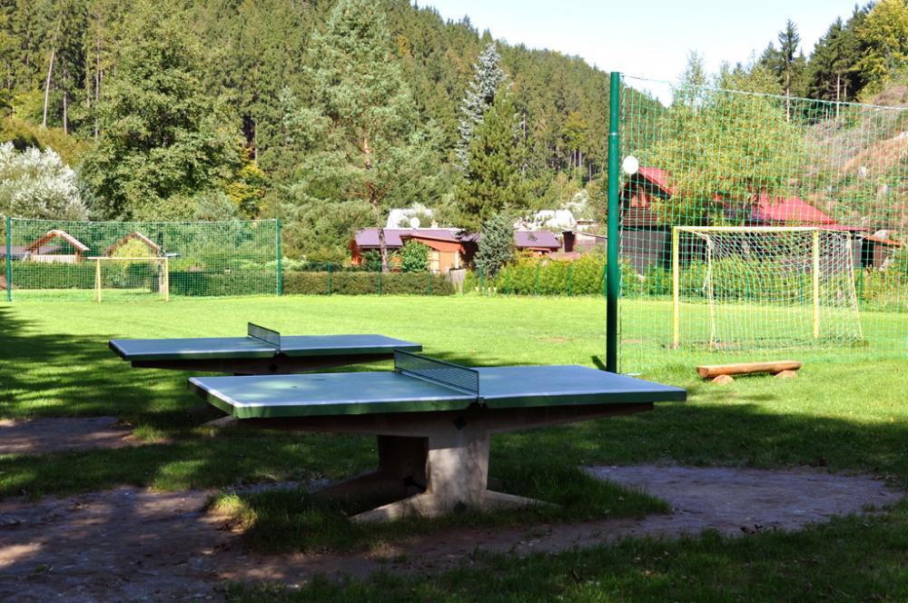 Bozeňov - stolní tenis a fotbalové hřiště