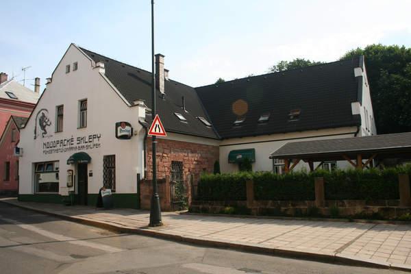 penzion restaurace Novopacké sklepy