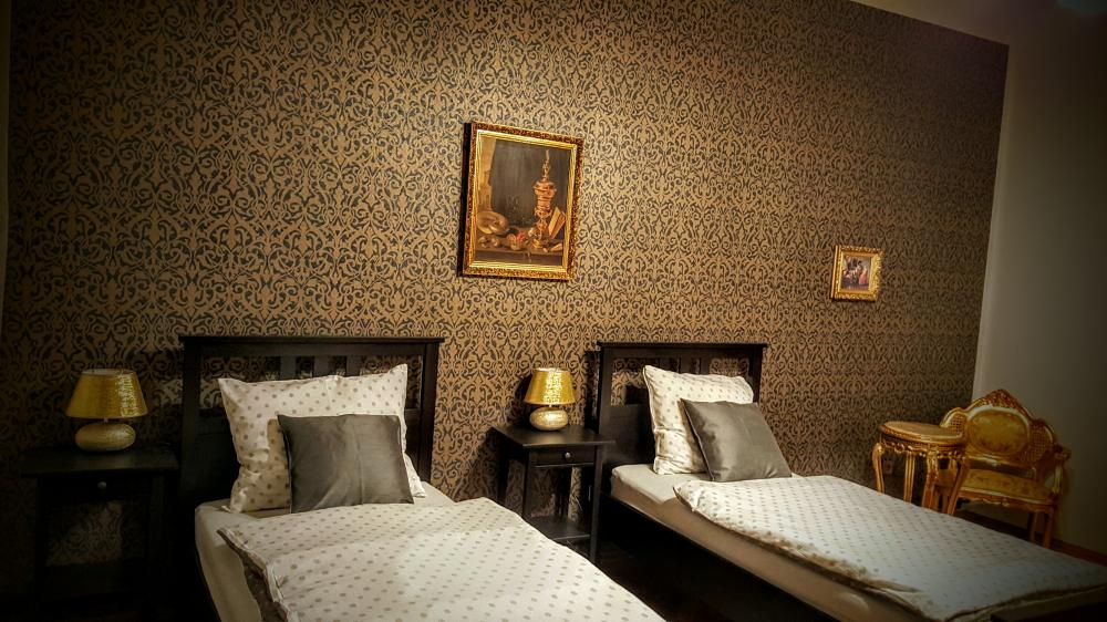 ložnice s oddělenými lůžky