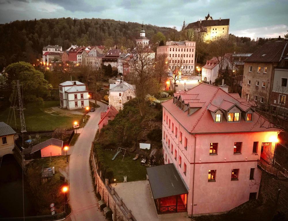 Hotel s pohledem na město