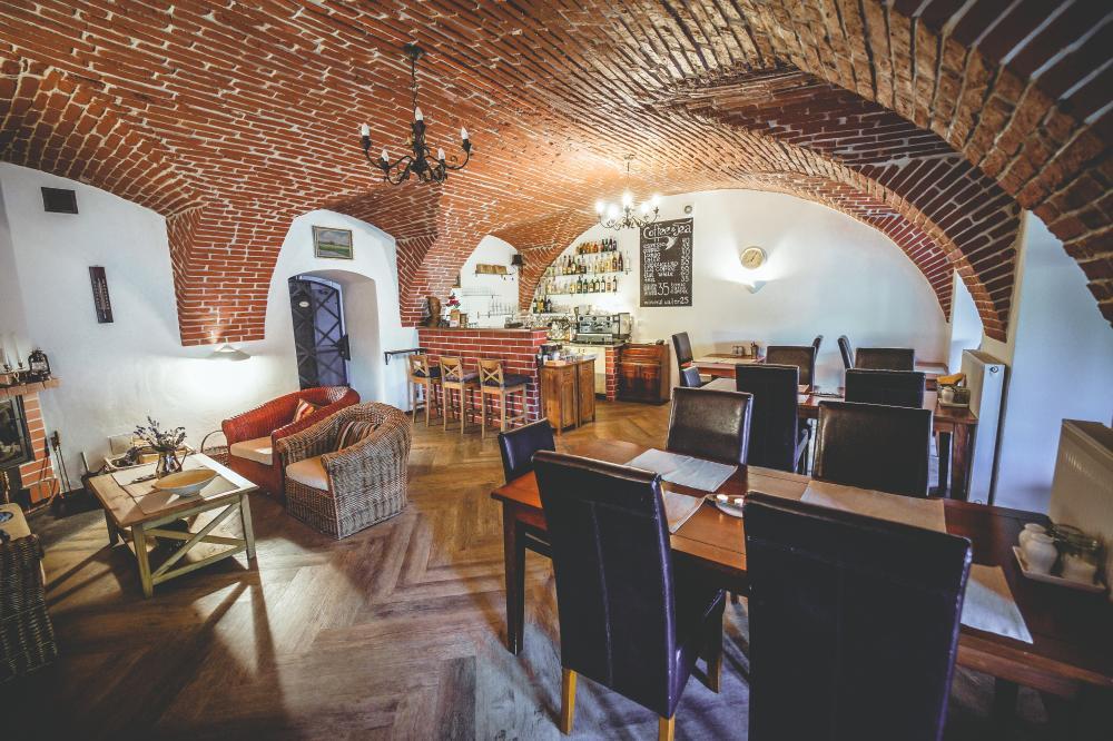 Kavárna hotelu