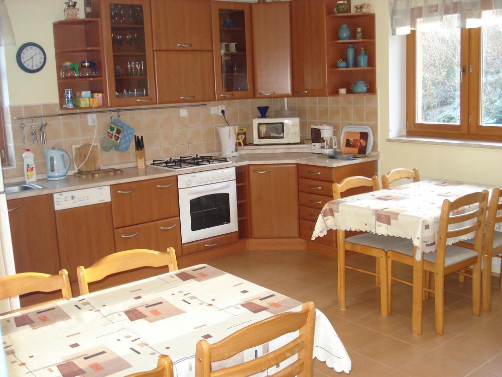 společná kuchyně pro hosty k dispozici