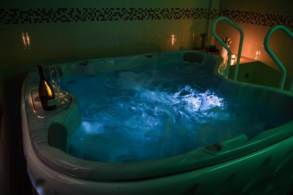 wellness s fínskou saunou a vírivkou