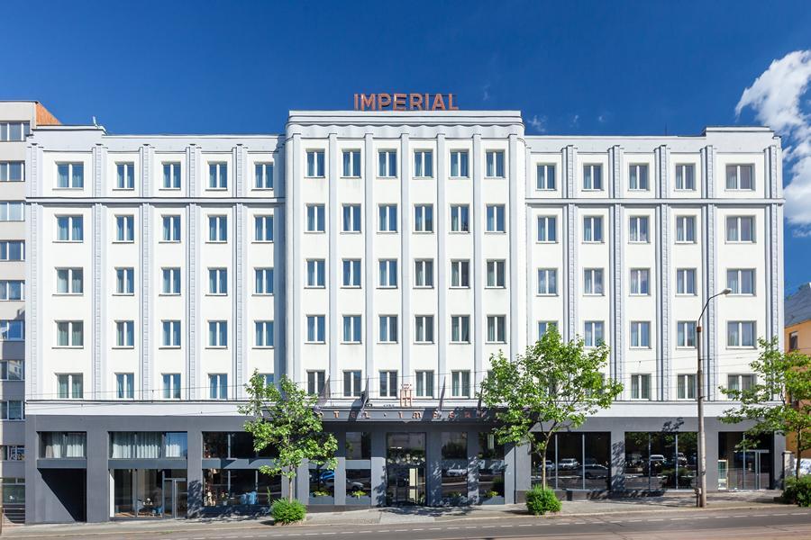 Pytloun Grand Hotel Imperial - čelní pohled