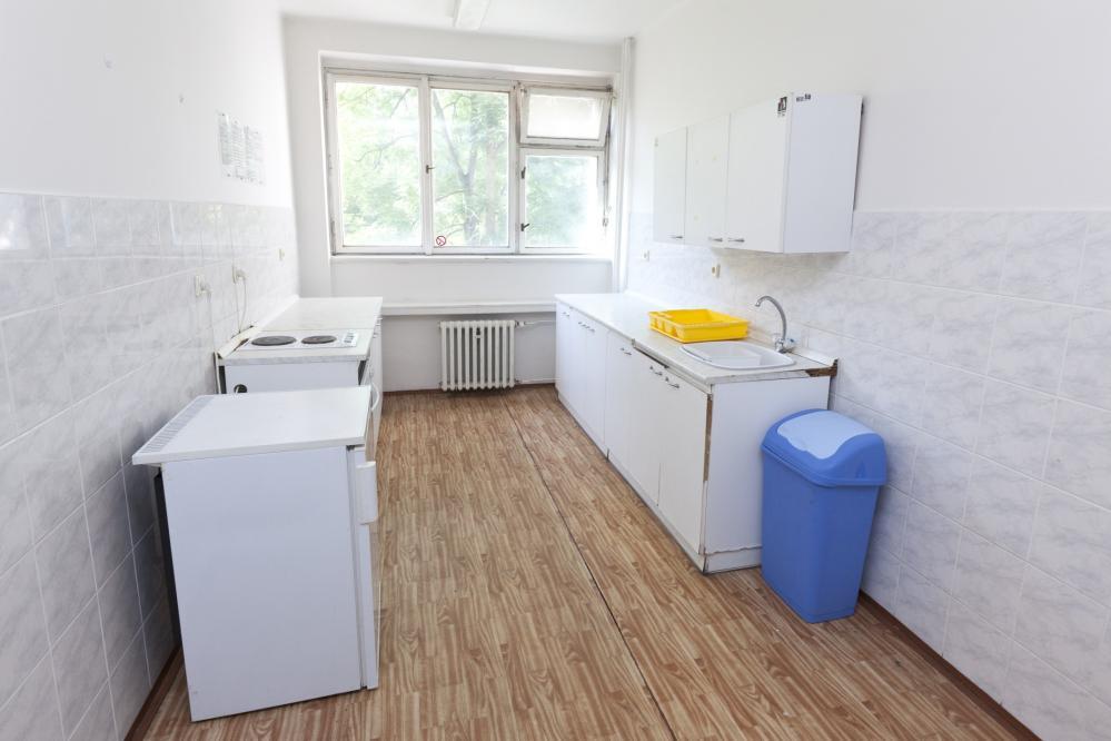 Kitchen on the floor