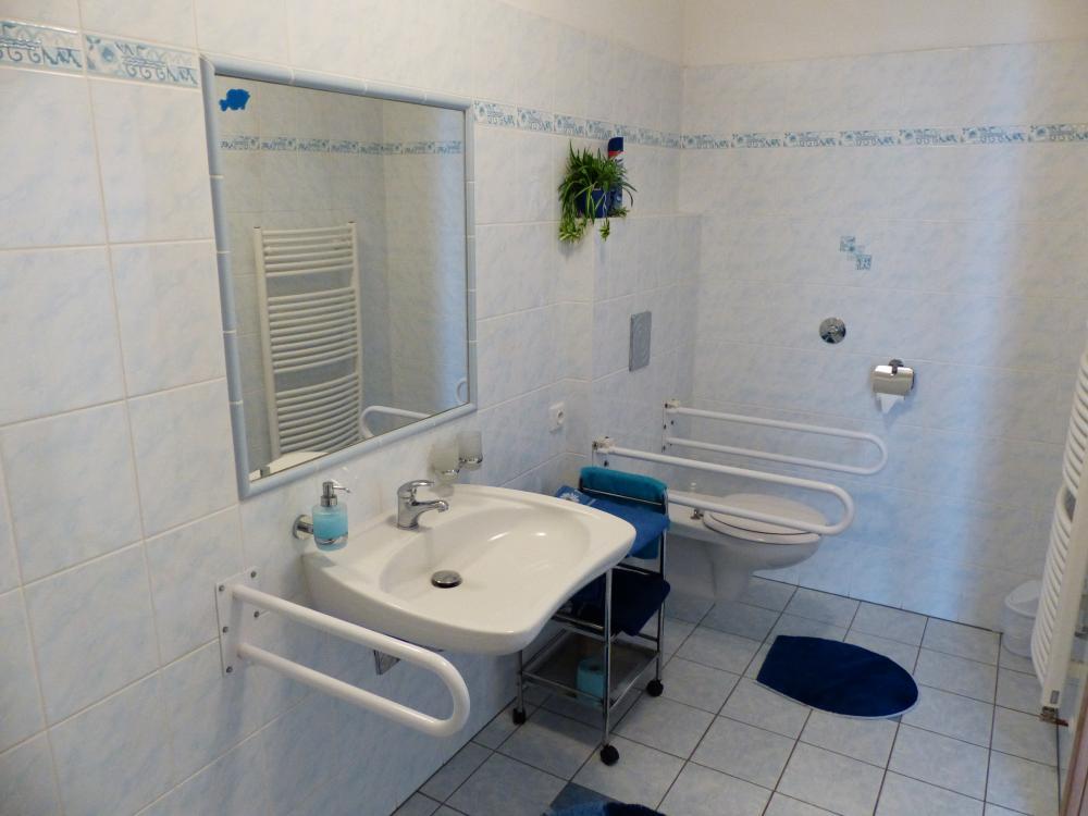 bezbariérové koupelna
