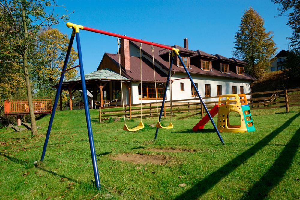 Pension U Ski Areálu - dětské hřiště