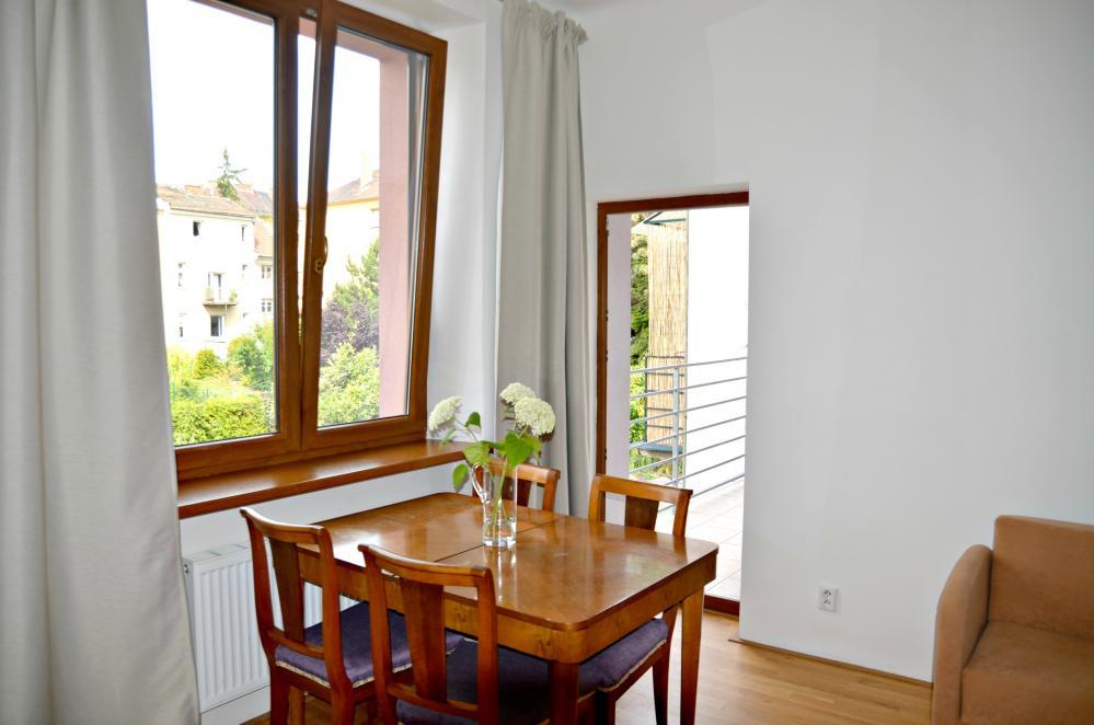 dveře na balkon