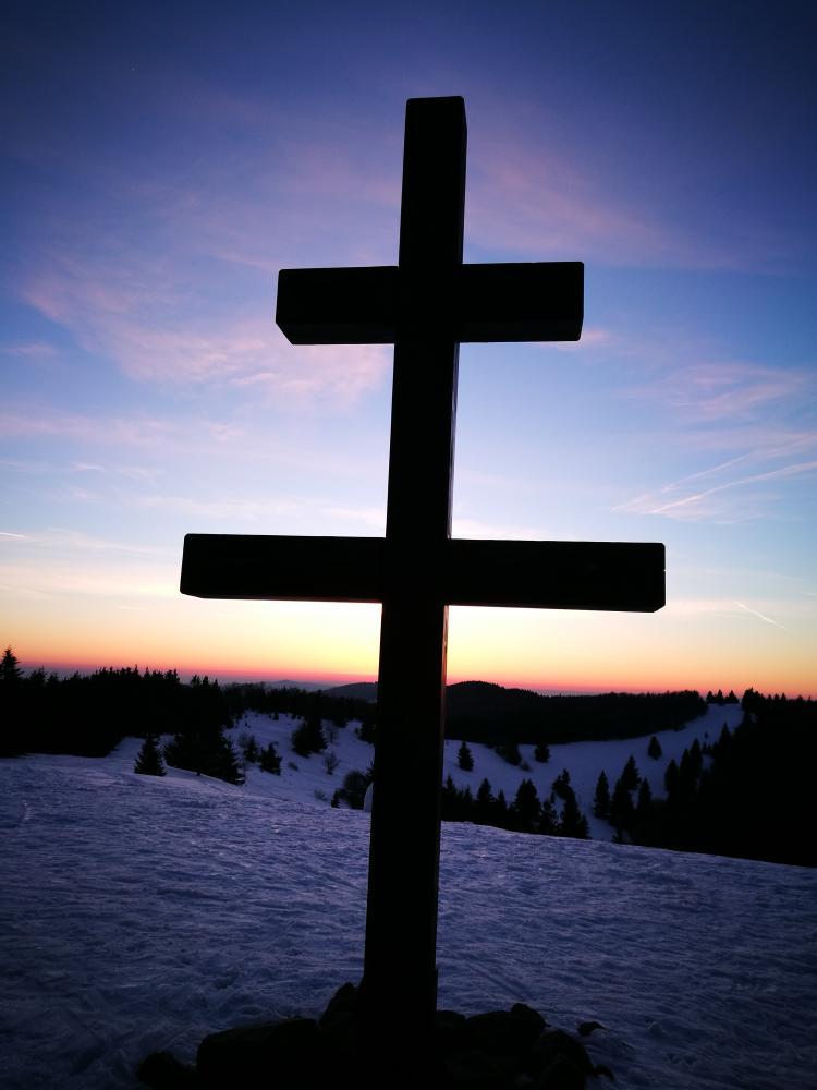 Velký Javorník v zimě