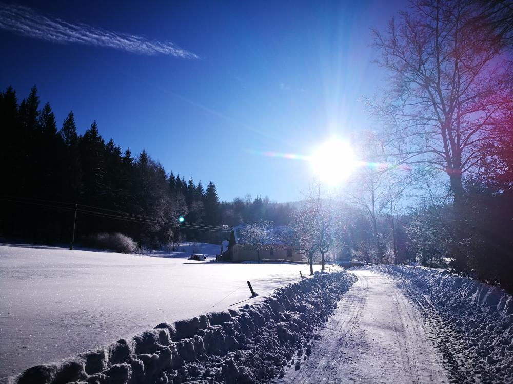 Zima v Makově