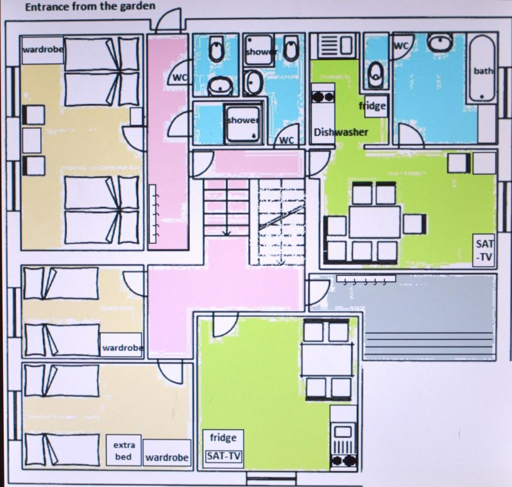 Apartmá pro 8 osob