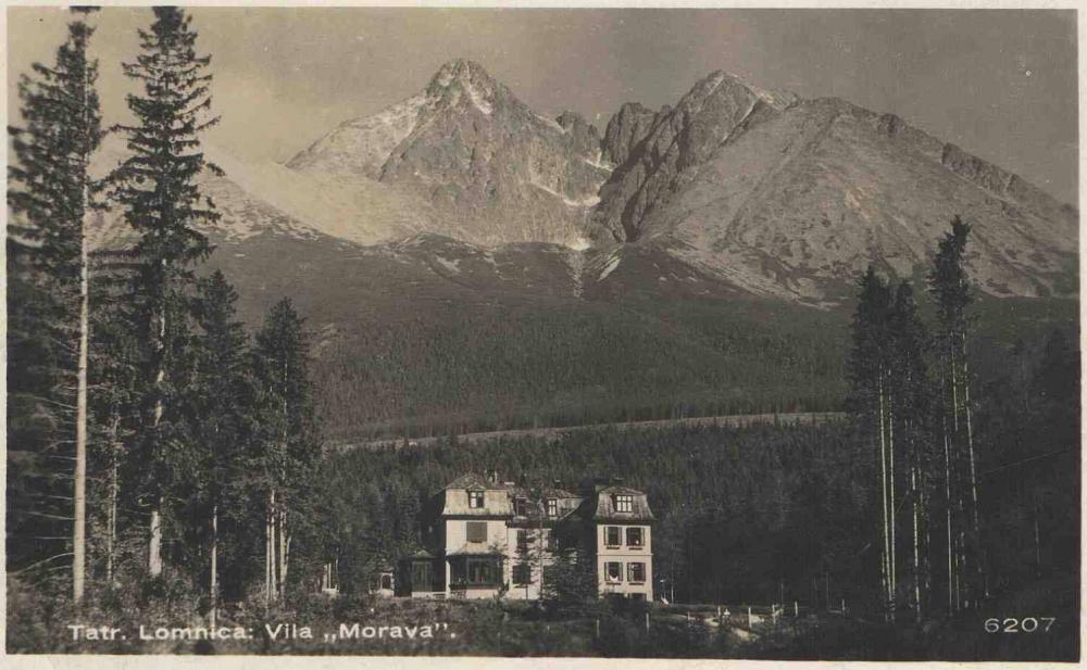 Stará Morava v Tatranskej Lomnici