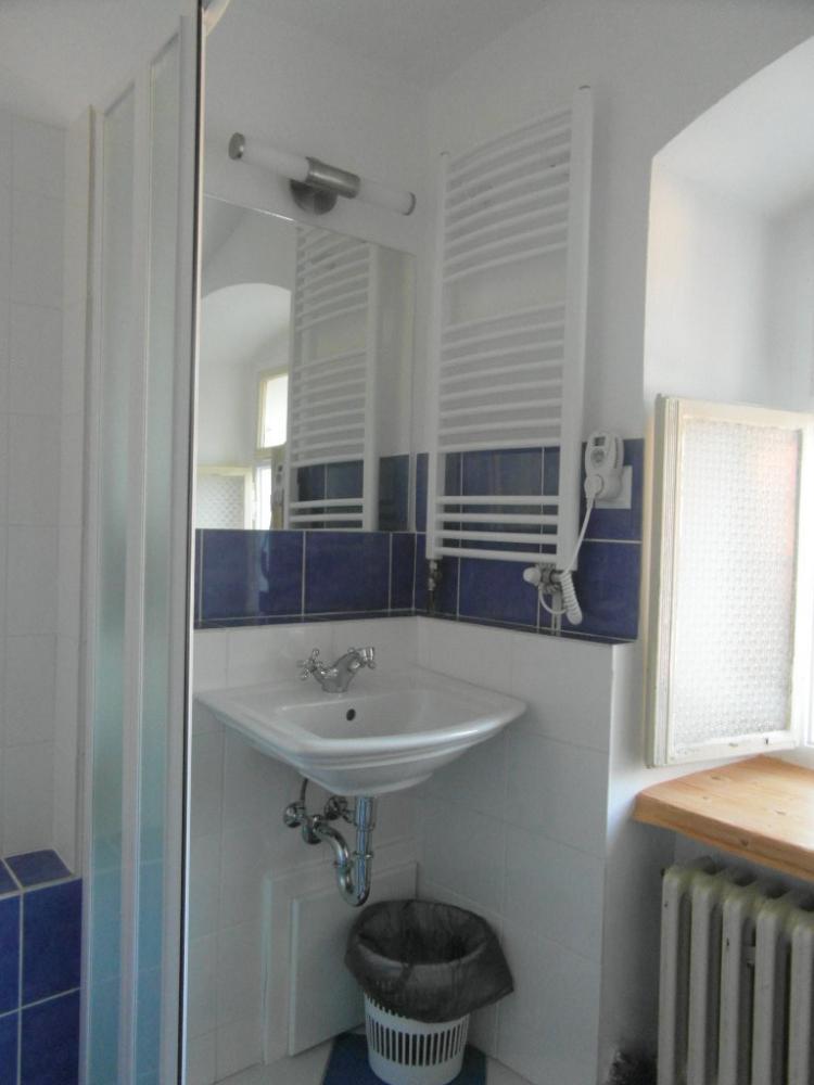 renovovaná koupelna pokoje 2,penzion Fořtovna.Písecko,jižní Čechy