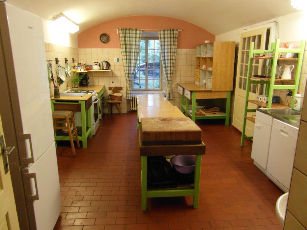 Kuchyně,penzion Fořtovna, Písecko,jižní Čechy
