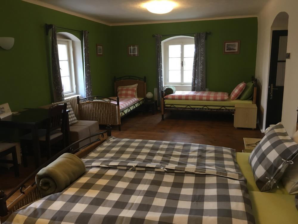 pokoj č.3, penzion Fořtovna Cerhonice