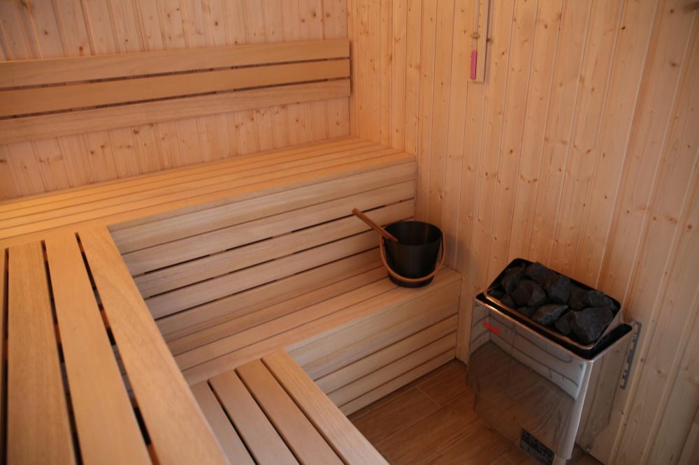 Fínska suchá sauna