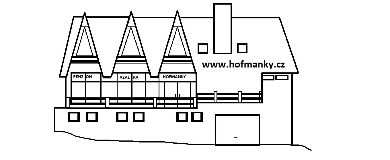 Logo Penzion Hofmanky (Azalka) - Šumava
