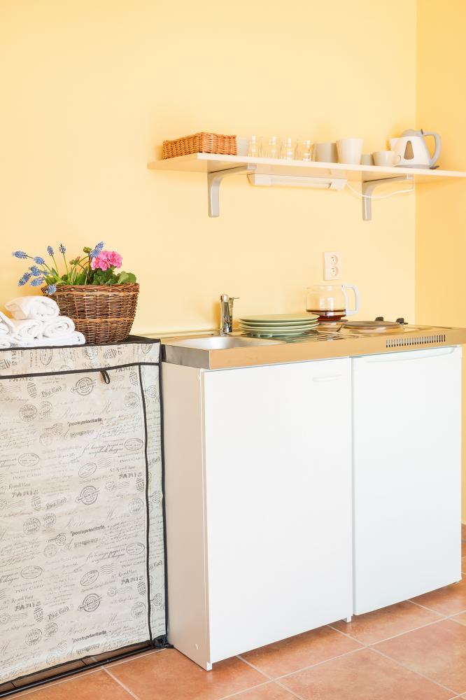 penzion Zeeman kuchyňka