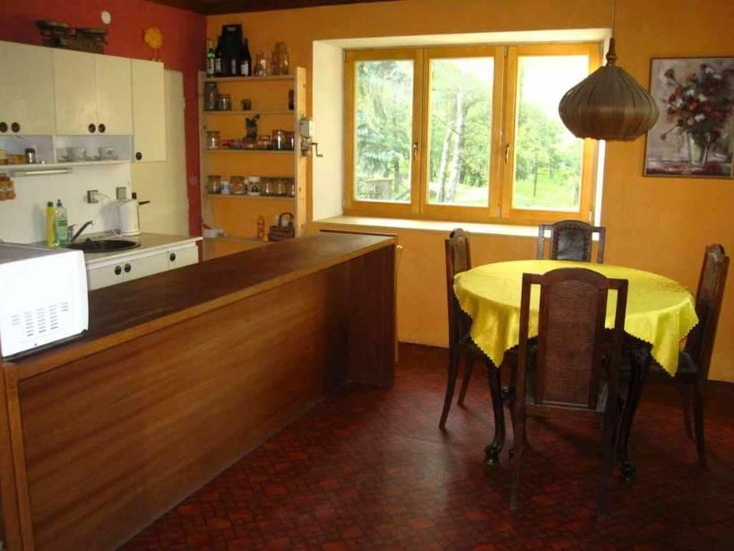 Kuchyň pro dřevěný pokoj
