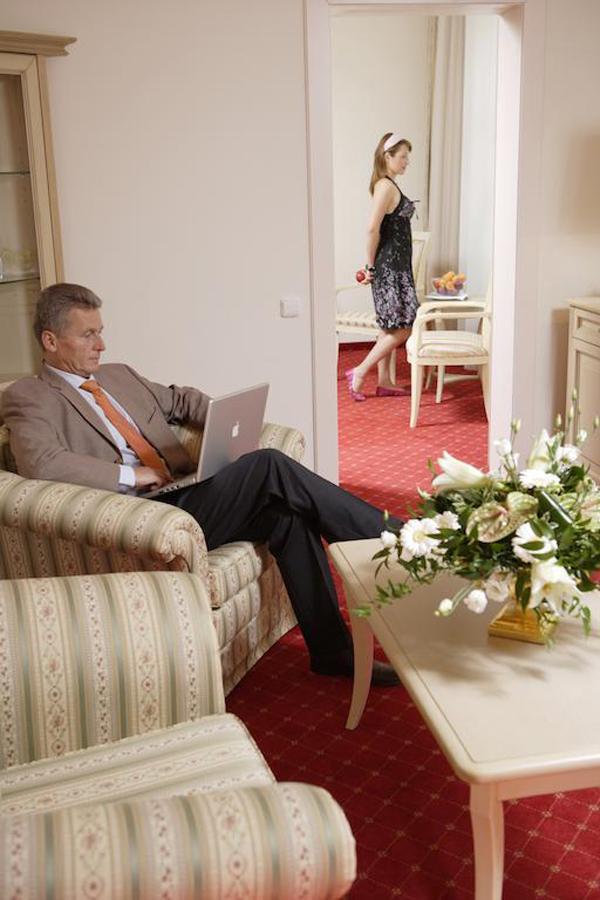 Pokoj kategorie Lux - obývací pokoj