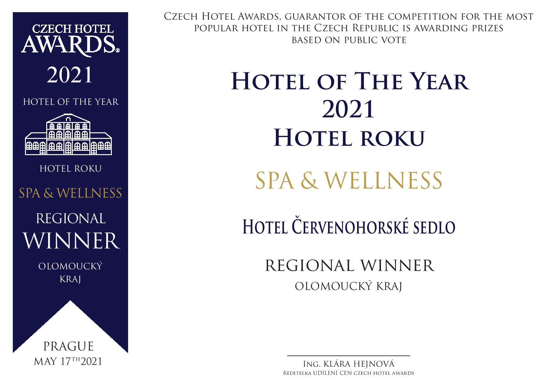 Ocenění Czech Hotel Awards