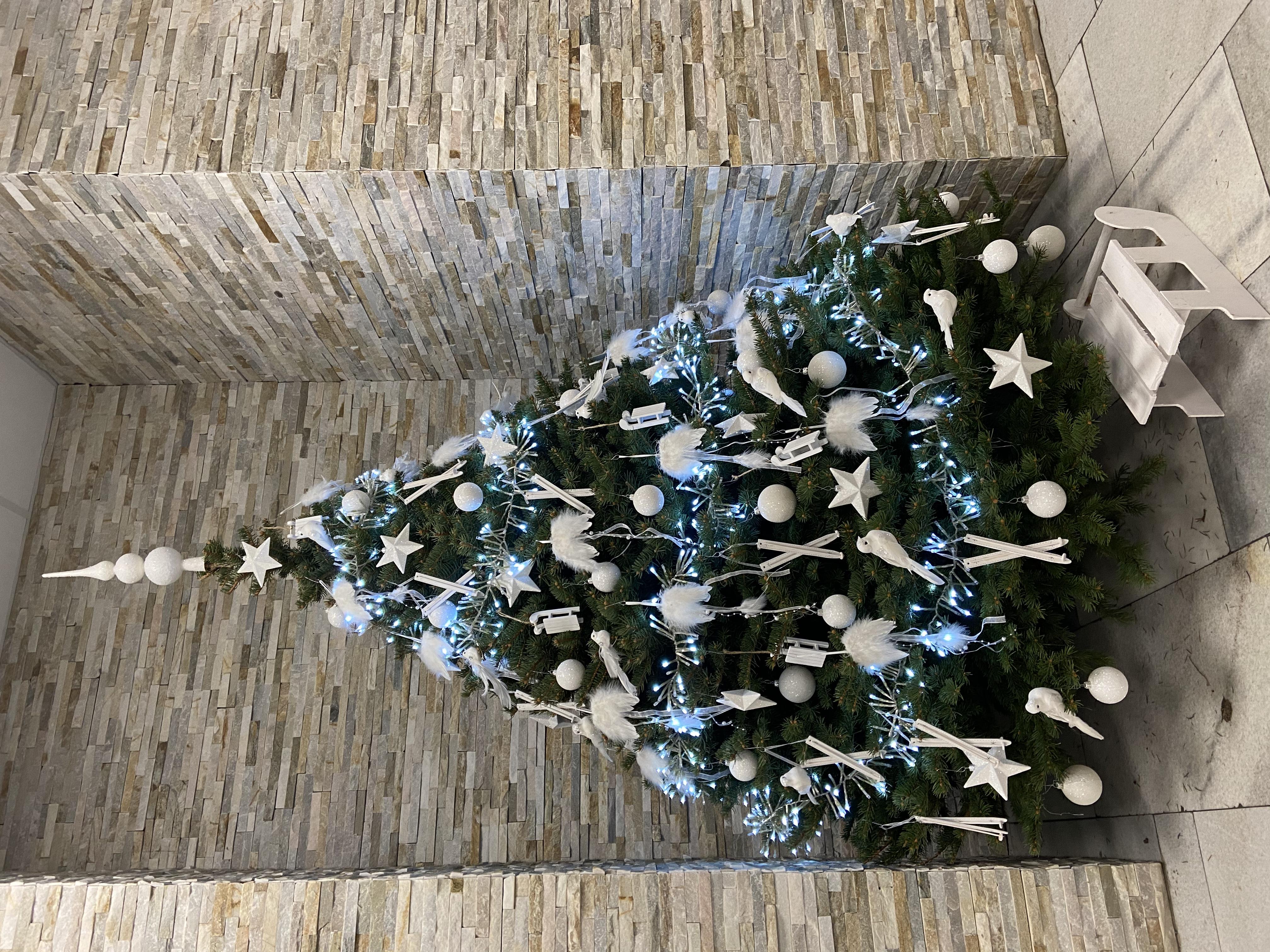 Vánoční výzdoba, hotel Červenohorské sedlo