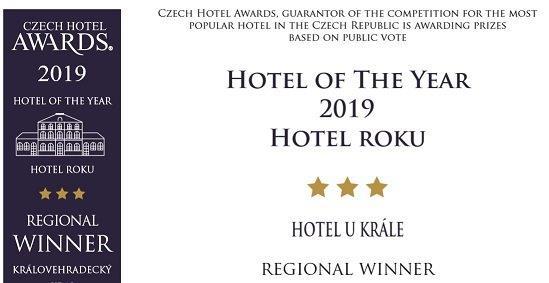 Diplom Czech Hotel Awards 2019