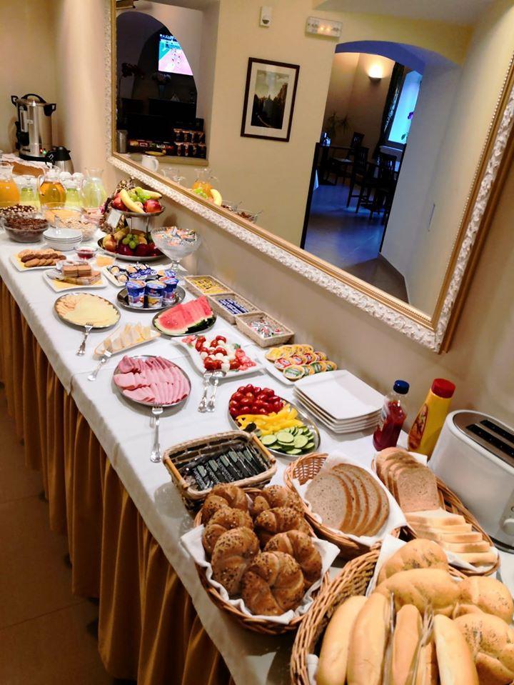 snídaně hotel U krále