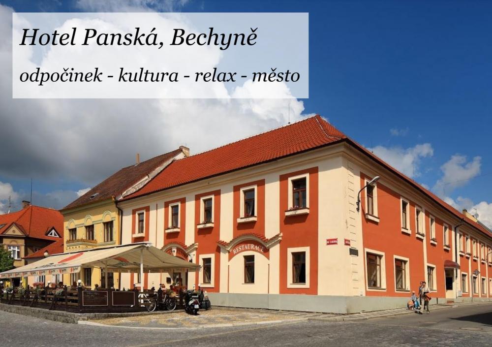 Panství Bechyně - hotel Panská a penzion Golf