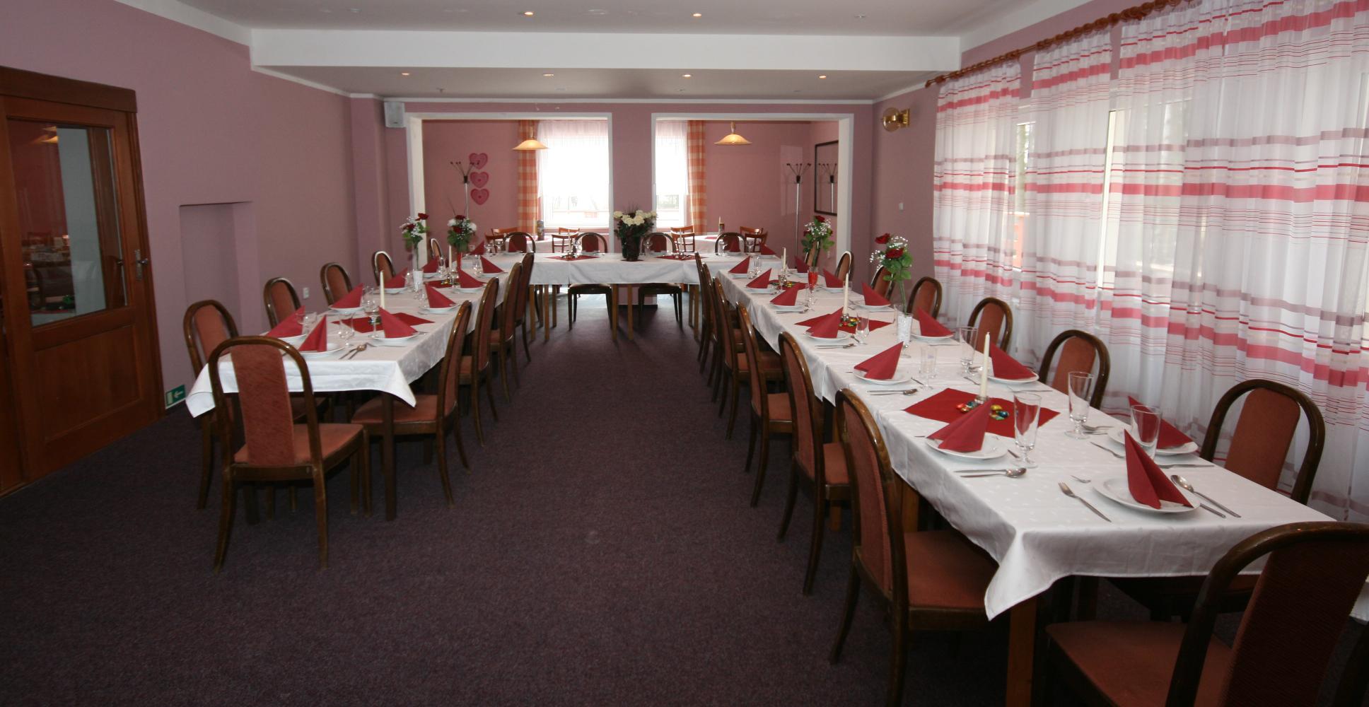 Bar v restauraci - Ubytování Františkovy Lázně - Hotel Zátiší Františkovy Lázně