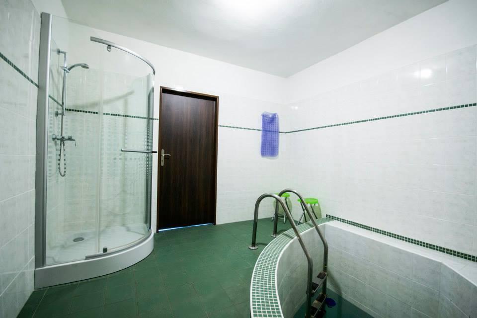 sauna - bazének