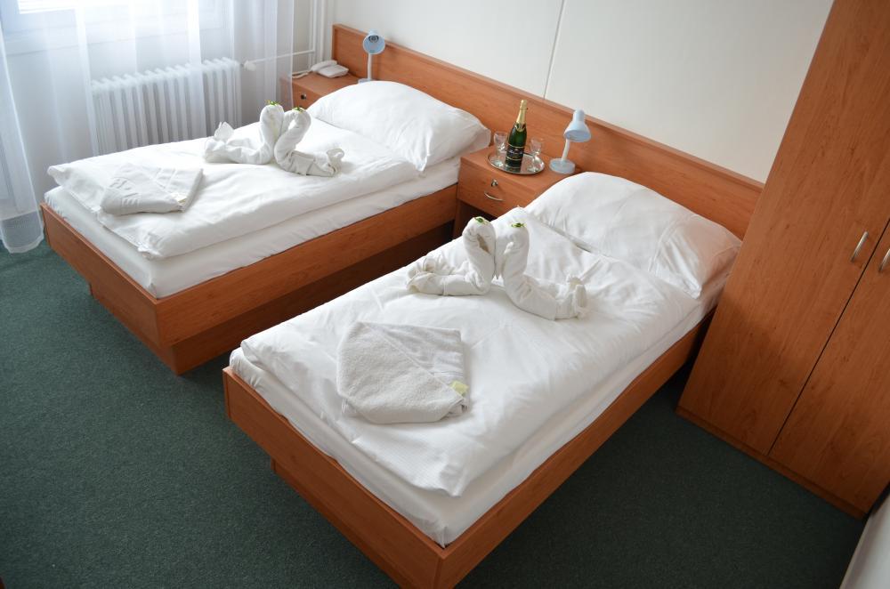Dvoulůžkový pokoj, oddělené postele