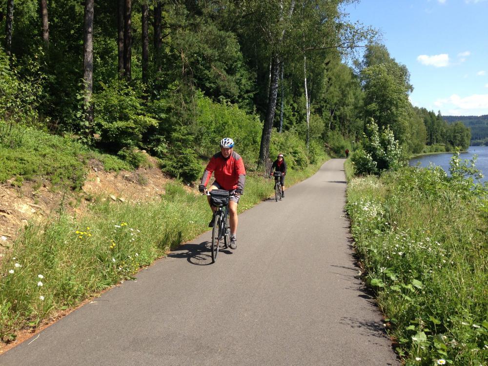 Lipno - in-line a cyklistická stezka