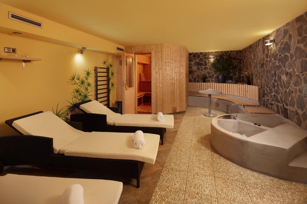 Sauna s relaxační místností