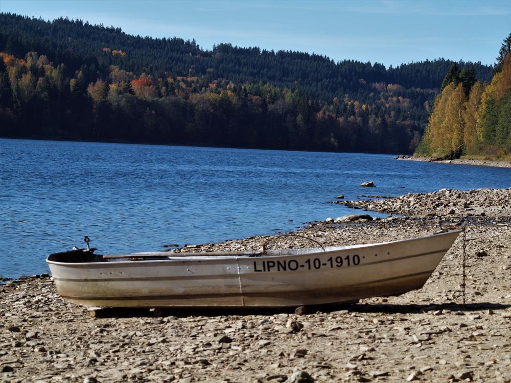 Lipno - loďka