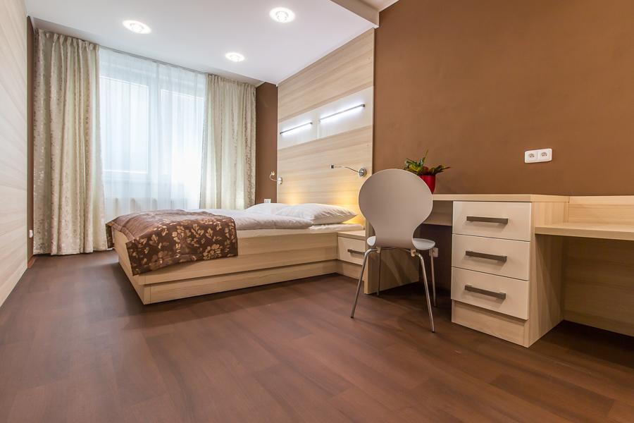 wellness apratmán - ložnice