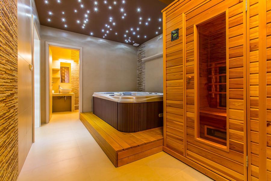 wellness apartmán - vířivka,sauna