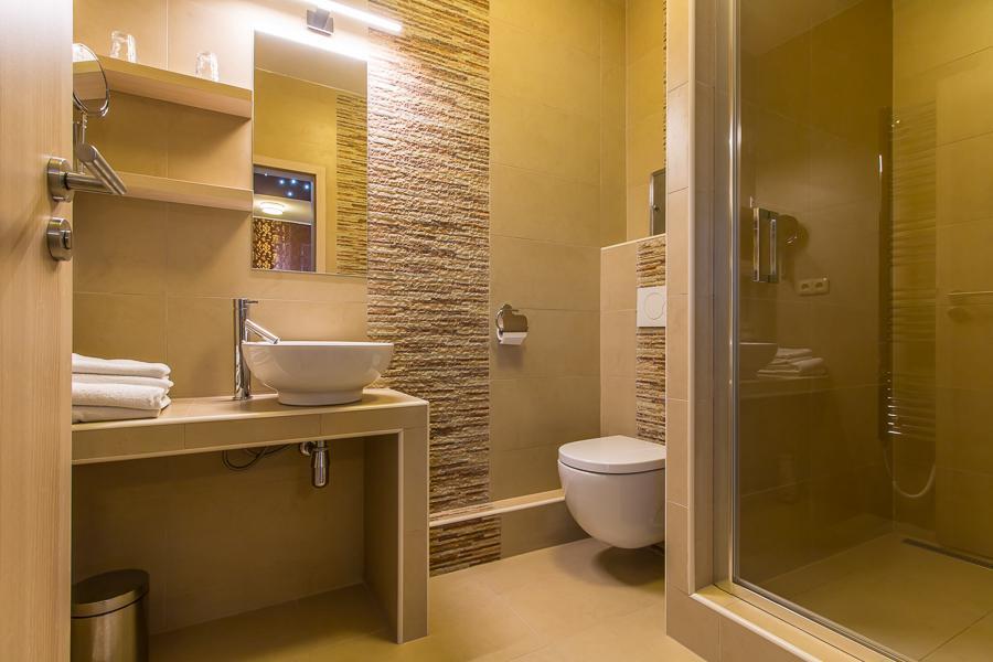 wellness apartmán - koupelna