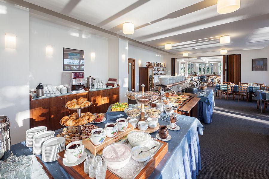 Hotelová snídaně