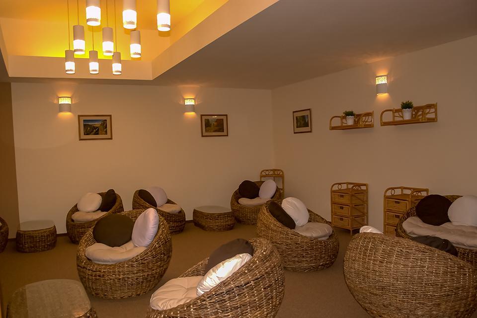 odpočinkový salónek