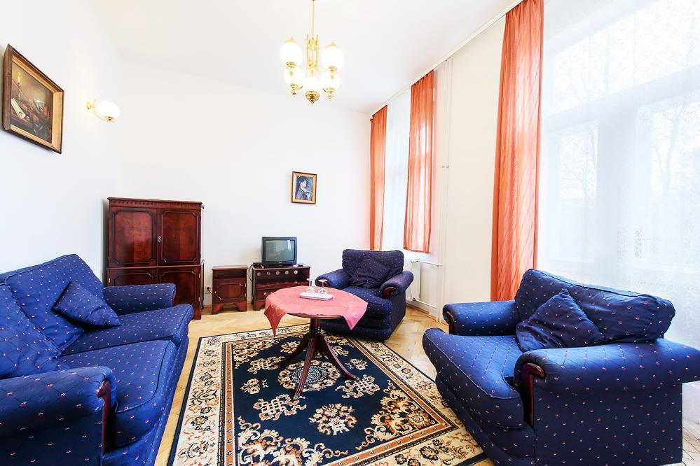 obývací část - apartmán