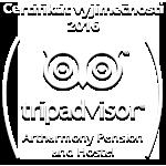 Certifikát vyjímečnosti 2016 - TripAdvisor