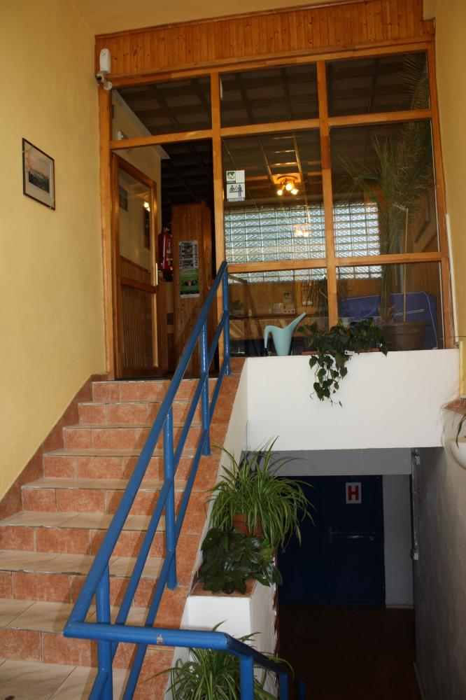 vstupní schodiště