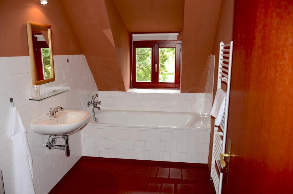 koupelna u třílůžkového pokoje A6