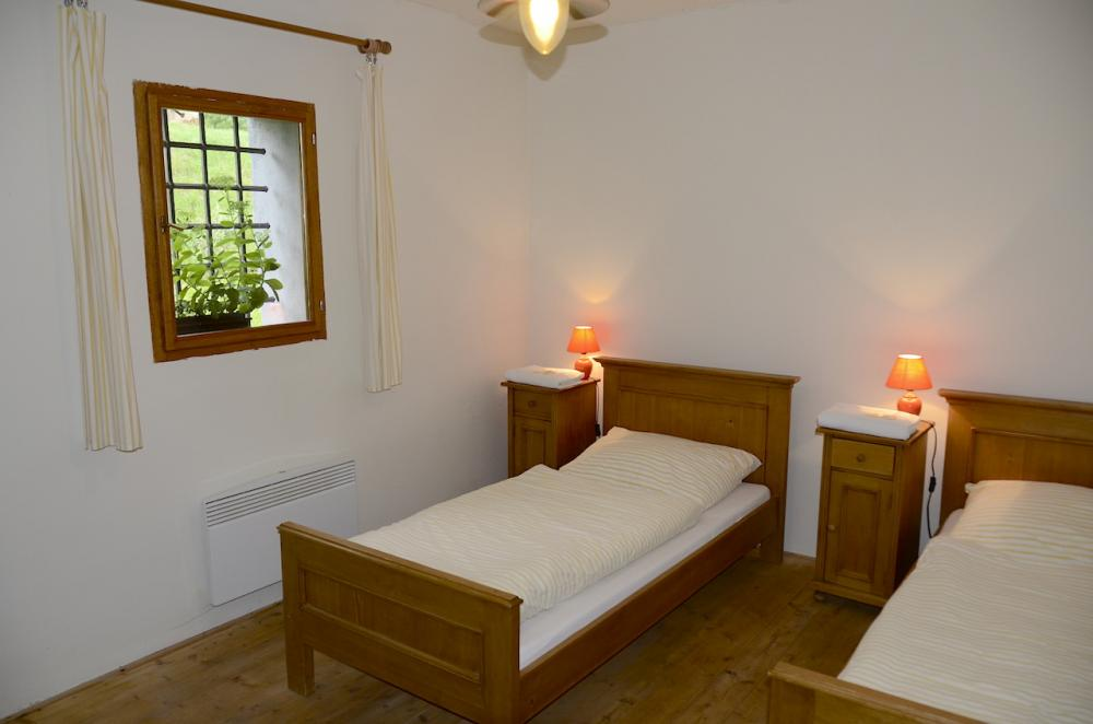 dvoulůžkový pokoj v hotelové části C