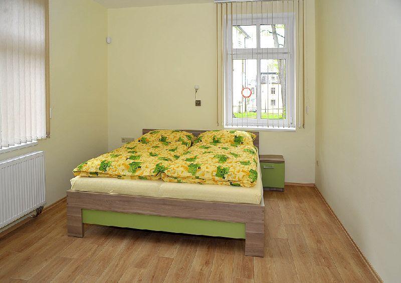 Zelený apartmán - ložnice
